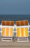 Relaxe cadeiras Fotografia de Stock