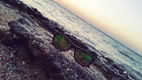 Relaxe com o vaccation do verão do mar fotos de stock royalty free