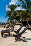 Relaxe na praia Imagens de Stock Royalty Free