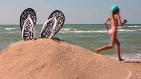 Relaxe na praia video estoque