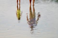 Relaxe na praia Foto de Stock