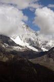 Relaxe nas montanhas Imagens de Stock