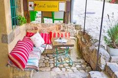 Relaxe no café Fotografia de Stock Royalty Free