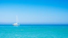 Relaxe no mediterrâneo Fotografia de Stock Royalty Free