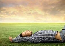 Relaxe no naure Imagem de Stock