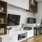 Relaxe o espaço na sala de visitas Imagem de Stock Royalty Free