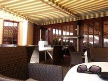 Relaxe o restaurante Fotografia de Stock Royalty Free