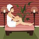 Relaxe o Spa ilustração stock