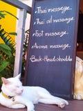 Relaxe o tempo Foto de Stock