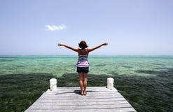 Relaxe o tempo do feriado Imagens de Stock Royalty Free