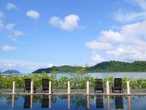 Relaxe o tempo em Koh Chang Sea, Tailândia Imagem de Stock Royalty Free