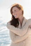 Relaxe o tempo no dia morno do outono Imagens de Stock Royalty Free