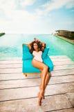 Relaxe pela associação Fotos de Stock Royalty Free