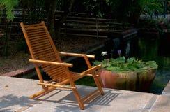 Relaxe stol Fotografering för Bildbyråer