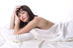 relaxed женщина Стоковые Фото
