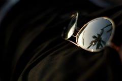 Relaxed заход солнца Стоковые Изображения RF