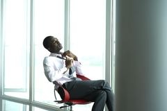 Relaxed Businessman Royalty Free Stock Photos