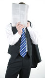 Relaxed businessman Stock Image