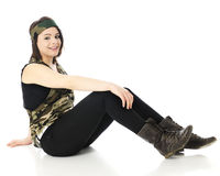Relaxed in Camo Stock Image