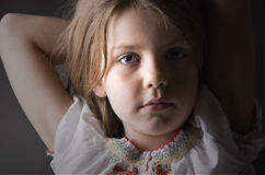 A relaxed child Stock Photo