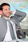 Relaxed executive Stock Images