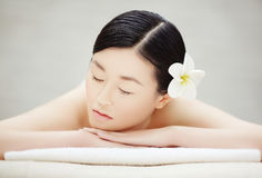 Relaxed girl Royalty Free Stock Images