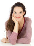 Relaxed gorgeous young woman Royalty Free Stock Images