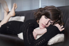 Relaxed at home Royalty Free Stock Photography