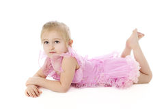 Relaxed Little Dancer Royalty Free Stock Photography