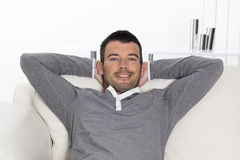 Relaxed man Royalty Free Stock Photo