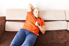 Relaxed man Stock Images