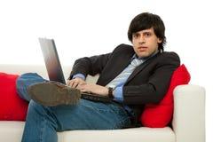 Relaxed man Stock Photos