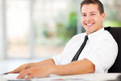 Relaxed office worker Royalty Free Stock Photography
