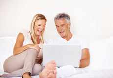 Relaxed time together Stock Photos