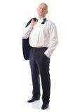 Relaxed tuxedo Stock Photos