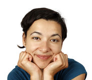 Relaxed woman Royalty Free Stock Images