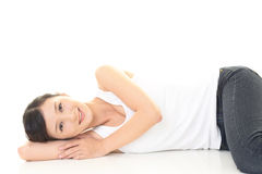 Relaxed woman Stock Photography