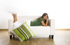 Relaxing Royalty Free Stock Photo