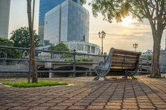 A Relaxing Afternoon at Clarke Quay Stock Image