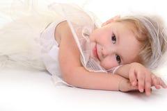Relaxing angel Stock Photos