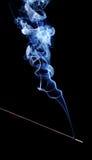 Incense smoke stock photography