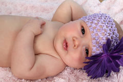 Relaxing baby Royalty Free Stock Photos