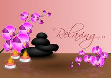 Relaxing background Royalty Free Stock Image