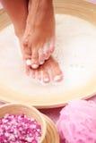Relaxing bath Stock Image