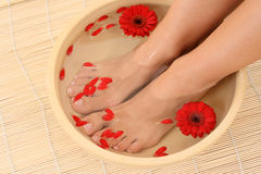 Relaxing bath Stock Photography