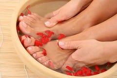Relaxing bath Stock Photo