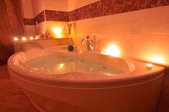 Relaxing bath Royalty Free Stock Photography
