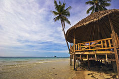 Relaxing beach Stock Image