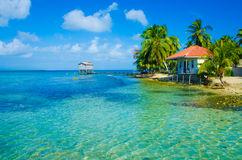 Relaxing at Beach House Royalty Free Stock Images