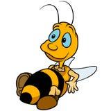 Relaxing Bumblebee Royalty Free Stock Photos